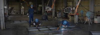 t4.5~t12.0の中厚・厚板板金加工と溶接・組み立て