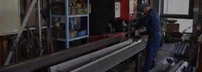 型鋼・パイプのレーザー加工、溶接、組み立て