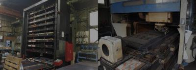 鋼材の社内在庫管理によるサイクルタイム短縮