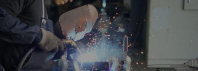 大ロット・数物をこなす25台の溶接設備