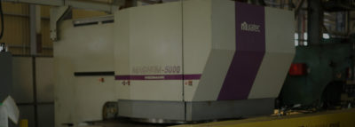 短納期を実現する中厚板のタレパン加工