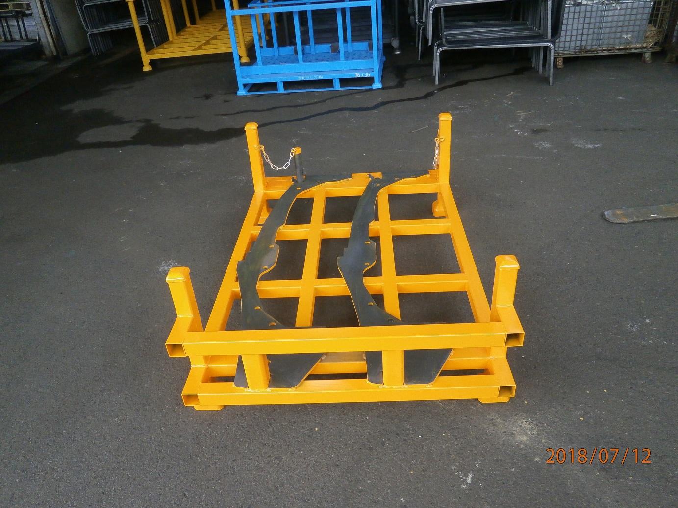 板金部品の部品搬送パレット