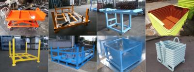 特注対応!工場内 搬送台車・搬送パレット設計・製作(3D-CADでの設計対応)