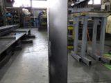 電気機器のフレームBOX(配線カバー)